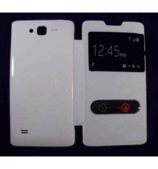 Funda Inteligente S-VIEW Cover blanco Huawei Ascend c8816