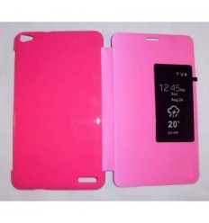 Funda Inteligente S-VIEW Cover rosa Mediapad X1 7.0