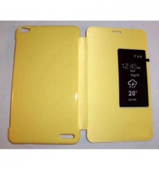 Funda Inteligente S-VIEW Cover amarillo Mediapad X1 7.0