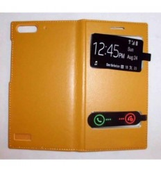 Funda Inteligente S-VIEW Cover Huawei G6 oro