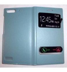 Funda Inteligente S-VIEW Cover Huawei G6 azul celeste