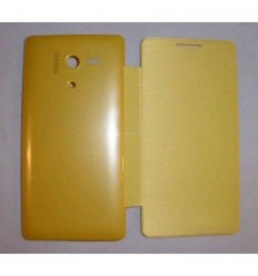 Huawei Ascend Honor Outdoor 3 Flip cover amarillo