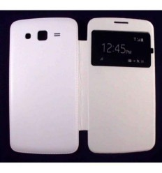 Funda inteligente S-View Cover blanco Samsung Galaxy Grand 2