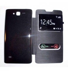Funda Inteligente S-VIEW Cover negro Huawei Ascend c8816