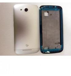 Huawei Ascend B199 carcasa completa plata