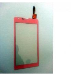 Sony Xperia SP M35H C5303 Pantalla táctil rosa original