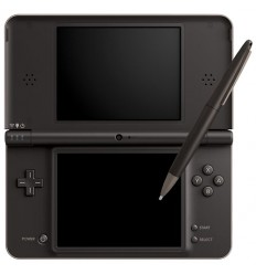 Nintendo DSi XL shell dark brown