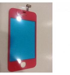 iPhone 4 4s cristal rosa + digitalizador