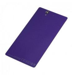Sony Xperia Z L36H tapa batería lila sin NFC