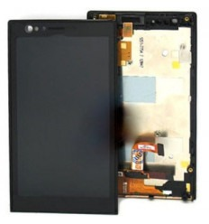 Sony Xperia P LT22I original black display lcd with touch sc