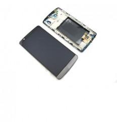 LG G3 D855 pantalla lcd + táctil negro (gris) + marco origin