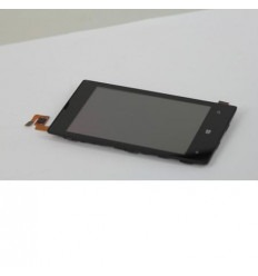 Nokia Lumia 520 Pantalla lcd + Táctil negro + Marco original