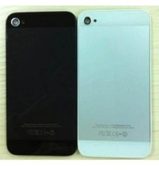 iPhone 4s Cristal Trasero negro diseño iPhone 5