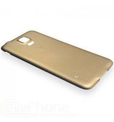 Samsung Galaxy S5 I9600 SM-G900 SM-G900F tapa batería dorado