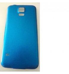 Samsung Galaxy S5 I9600 SM-G900 SM-G900F tapa batería azul