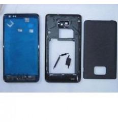 Samsung Galaxy S2 i9100 carcasa completa negro