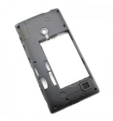 Nokia Lumia 520 carcasa trasera negro
