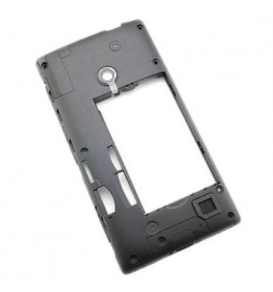 new products fa919 a7137 Nokia Lumia 520 black back cover