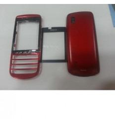 Nokia asha 300 carcasa completa rojo