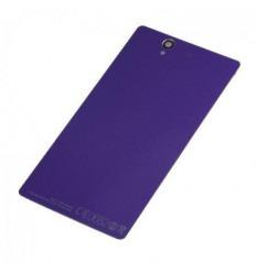 Sony Xperia Z L36H tapa batería lila con NFC
