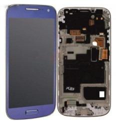 Samsung I9195 S4 Mini LTE LCD + Táctil + Marco azul Original