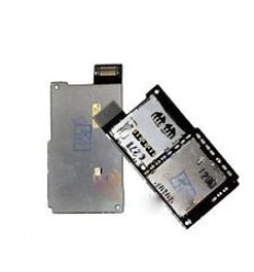 Htc One SV C525E original sim card reader with memory card r