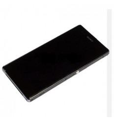 Sony Xperia Z1S L39T C6916 pantalla lcd + táctil negro + mar