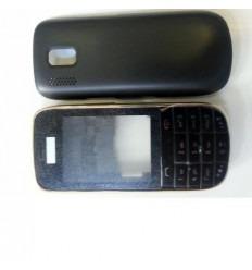 Nokia Asha 202 carcasa completa negro