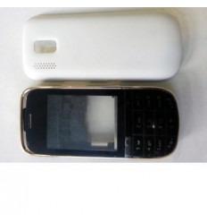 Nokia Asha 202 carcasa completa blanco