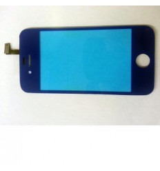 iPhone 4 4S Cristal + Digitalizador azul marino