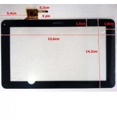 """Pantalla táctil repuesto tablet china 9"""" modelo 15"""