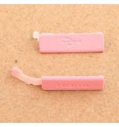 Sony Ericsson Xperia S LT26I Cubierta USB y Hdmi rosa
