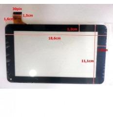"""Pantalla Táctil repuesto tablet china 7"""" Modelo 32"""