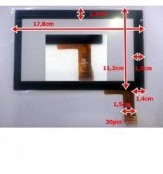 """Pantalla táctil repuesto Tablet china 7"""" Modelo 34"""