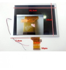 "Pantalla lcd repuesto Tablet China 8"" Modelo 1"