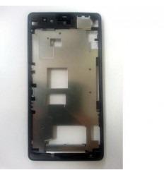 Sony Xperia Z1 Mini D5503 Z1C M51W marco frontal negro