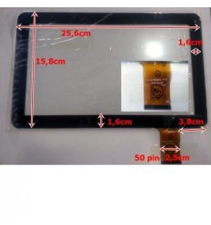 """Pantalla táctil repuesto tablet china 10.1"""" modelo 19"""