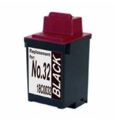 Cartucho reciclado Lexmark Nº 32/34 Negro