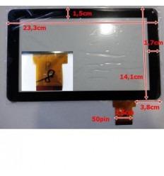 """Pantalla táctil repuesto tablet china 9"""" modelo 16"""