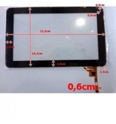 """Pantalla táctil repuesto tablet china 9"""" modelo 17"""