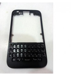 Blackberry Q5 marco frontal + teclado negro original