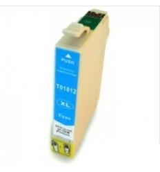Cartucho reciclado Epson T01812 Cyan