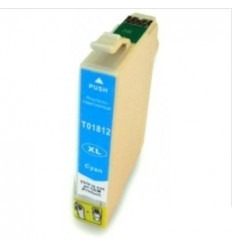 Recicled cartridge Epson Stylus T01812 cyan