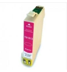 Cartucho reciclado Epson T01813 Magenta