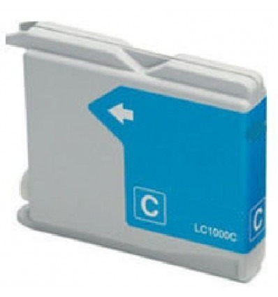 Recicled cartridge Brother LC1000CC Cyan