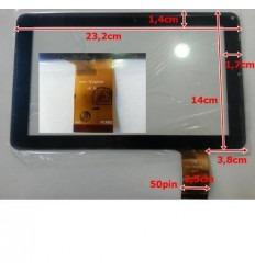 """Pantalla Táctil repuesto Tablet china 9"""" Modelo 18"""