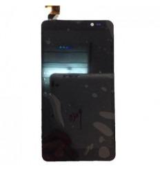 Thl T200 T200S Pantalla lcd + Táctil negro + marco