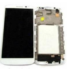 LG G2 Mini D620 Pantalla lcd + Táctil blanco + Marco origina