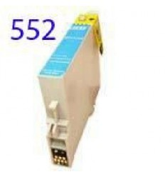 Recicled cartridge Epson T0552 Cyan