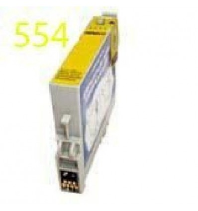Cartucho reciclado Epson T0554 Amarillo